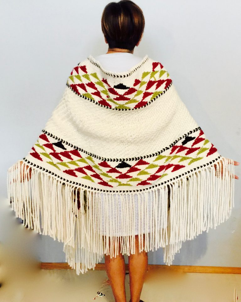 Inspired by the Chief Capilano blanket design