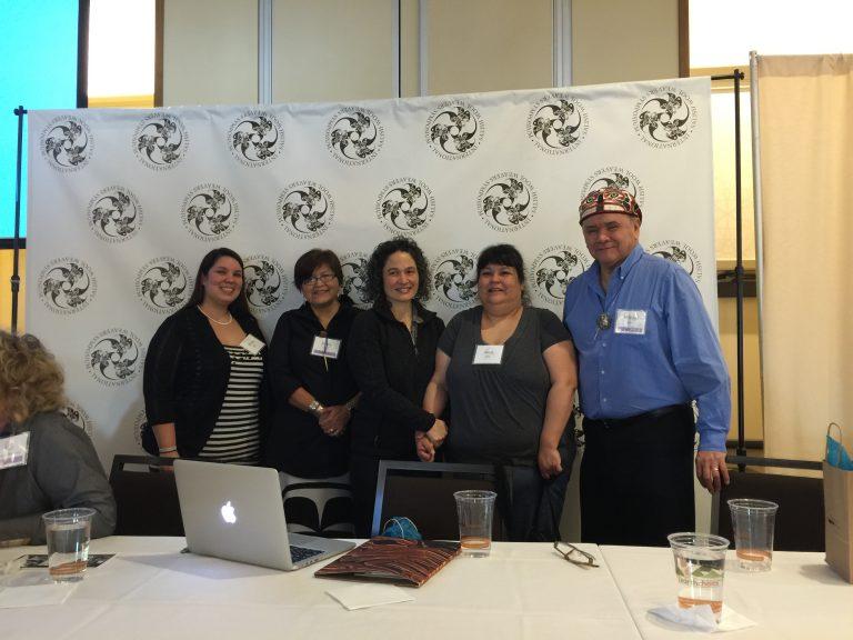 At Suquamish Weavers Symposium 2016