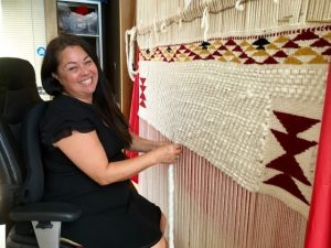 Michelle George - Coast Salish Weaving